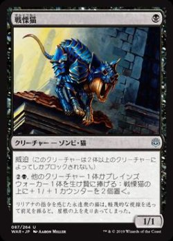 画像1: 戦慄猫
