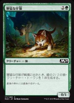 画像1: 獰猛な仔狼