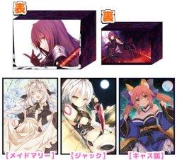 画像1: コミケ90頒布!Fate GO『メイドマリー』『ジャック』『キャス狐』スリーブ デッキケース付き(スリーブ各60枚入り)